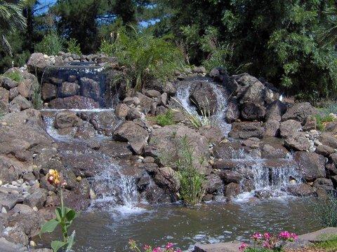 Waterfall & Pond by Greenstreak
